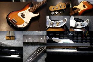 Fender USA American Vintage P Bass – ポット交換、全体調整