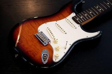 04月28日 – Fender Stratcaster – ネック交換 すり合わせ