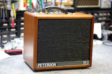 09月05日 – Peterson P100G mkⅡ – スピーカー交換