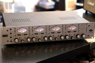 12月22日 – Universal Audio 4-710d – XLRジャック交換