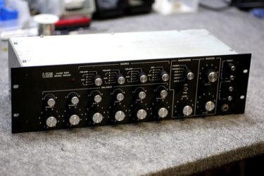 09月18日 – UREI 1620 DJ Mixer – メンテナンス、RCAジャック交換