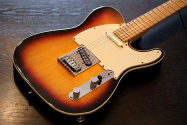11月26日 – Fender American Deluxe Telecaster – ステンレスフレット交換
