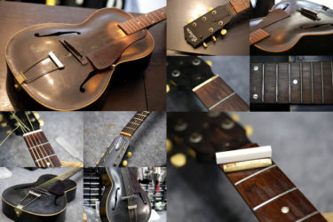 Gibson L-50 Black – ナット交換、全体調整