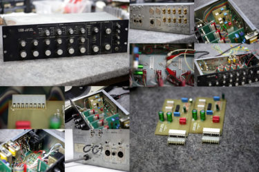 UREI 1620 – Phonoカード修理、ノイズ修理