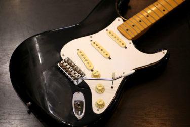 12月21日 – Fender ST57-66DMC – クリーニング、ポット交換、ナット交換