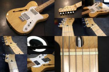Fender Mexico Telecaster Thinline – ナット交換