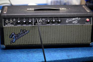 09月14日 – Fender Bassman Blackface – レストア作業