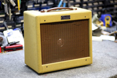 01月18日 – Fender Japan Tweed Champ Reverb – 真空管交換