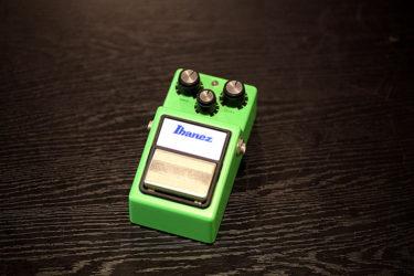 05月18日 – Ibanez TS-9 電池スナップ、LED交換