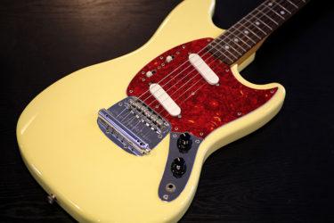 06月01日 – Fender Japan Mustang トグルスイッチ増設