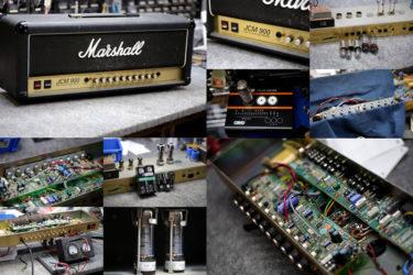Marshall JCM900 4500 50W  – チューブ交換、オーバーホール