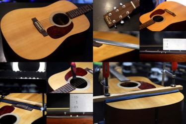 Martin D-1 – Clamps for Body top