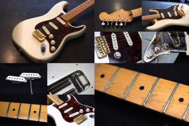 Fender American Deluxe Stratocaster – PU交換