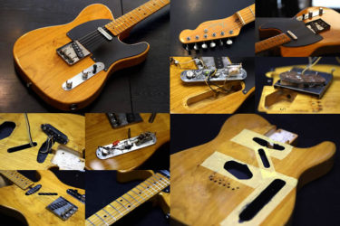 Fender Japan Telecaster 52-80 – ノイズ対策